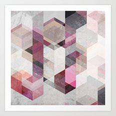 Nordic Combination 22 Y Art Print