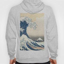 The Great Wave off Kanagawa Hoody
