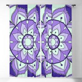 Mandala Maze Blackout Curtain