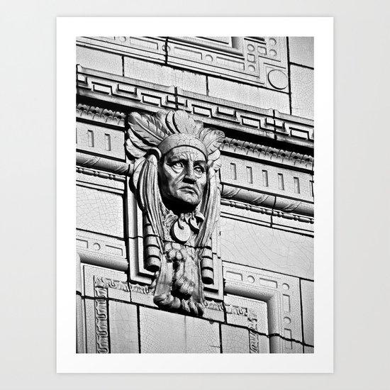 Building Chief Art Print