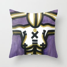 Becoming an Idolized Deity Throw Pillow