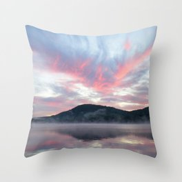 Silent Witness at Sunrise Throw Pillow