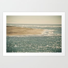 View from Bolinas Art Print