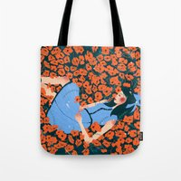 dorothy Tote Bags featuring Dorothy by Shaina Anderson
