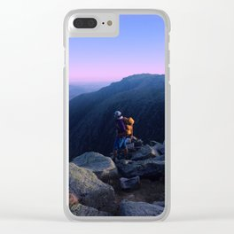 Hiking Clear iPhone Case