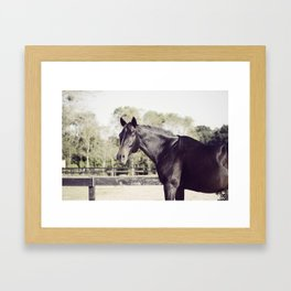 Beautiful in Blac 2 Framed Art Print