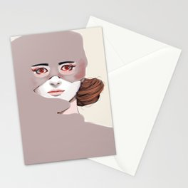 Untitled in Red Stationery Cards