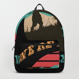 Hiking outfit with mountain motif for hobby mountaineers Backpack