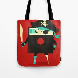 Software Pirate Tote Bag