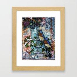 Be Transformed Framed Art Print