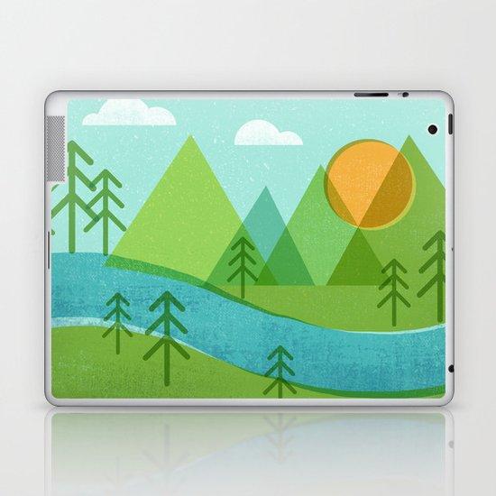 Roll On Columbia Laptop & iPad Skin