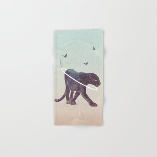 Black Panther Hand & Bath Towel