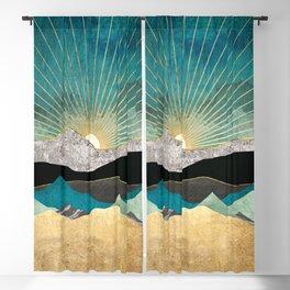 Peacock Vista Blackout Curtain