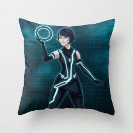 Quorra / Tron Legacy Throw Pillow