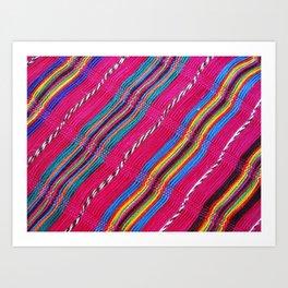 Mexican colors 3 Art Print