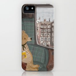 a new adventure for bear iPhone Case