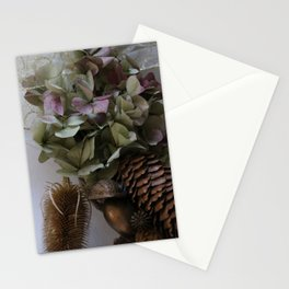Odds and ends, bits and petals Stationery Cards