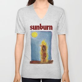 sunburn Unisex V-Neck
