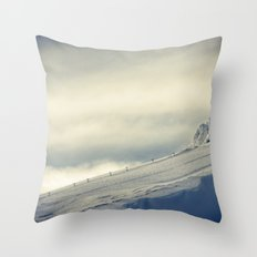 Above the Clouds - Mt. Hood Throw Pillow