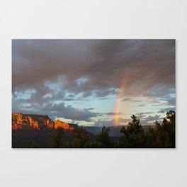 Sedona Rainbow Canvas Print