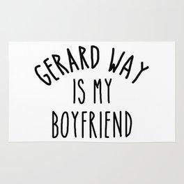 gerard way is my boyfriend Rug