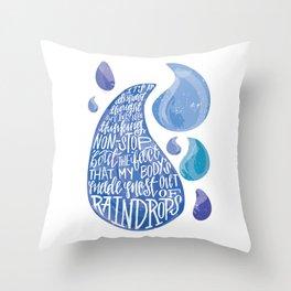 Saltwater Heart. [Switchfoot] Throw Pillow
