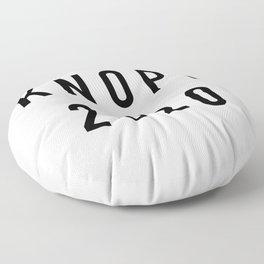 Knope 2020 Floor Pillow