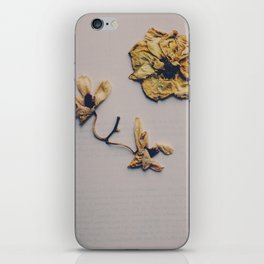 broken flower iPhone Skin