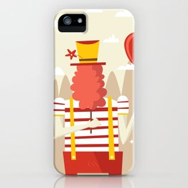 Life is a carnival iPhone Case