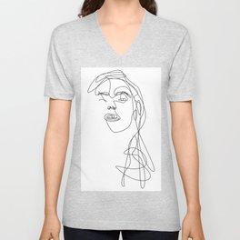 Modern Picasso by Sher Rhie Unisex V-Neck