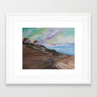 cape cod Framed Art Prints featuring Cape Cod by Dawn Hawkins art
