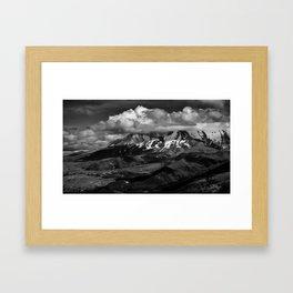 Cloudscapes Over Mt. St. Helens Framed Art Print