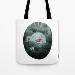 Bear and Berries Tote Bag