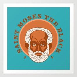 Saint Moses the Black Art Print