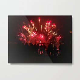 Let the sparks fly Metal Print
