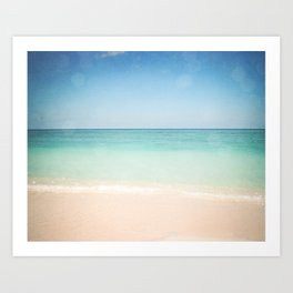 Seven Mile Beach Art Print