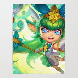 Star Guardian Lulu League Of Legends Poster