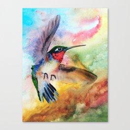 Flit the Hummingbird Canvas Print