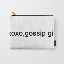 Xoxo, gossip girl . Carry-All Pouch