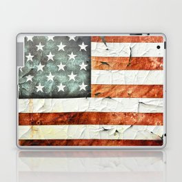 Painted Stars And Stripes Laptop & iPad Skin