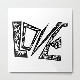 Only Love Metal Print