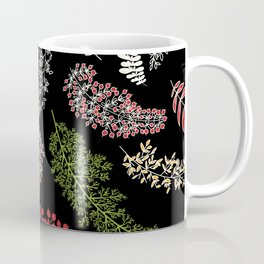 Dark Autumn Pattern, Fall Coffee Mug