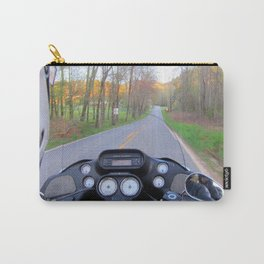 April on the Harley Carry-All Pouch