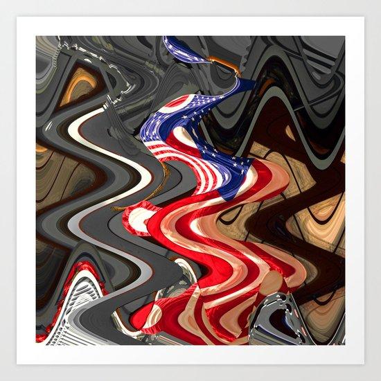 lava68 Art Print