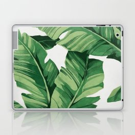 Tropical banana leaves Laptop & iPad Skin