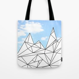 Ice Hills Tote Bag