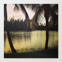 puerto rico Canvas Prints featuring Puerto Rico by Tall Yellow Gal
