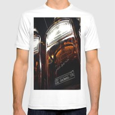 Single Jack MEDIUM Mens Fitted Tee White