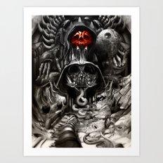 Giger Wars Art Print