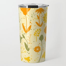 Bee Filled Field Travel Mug